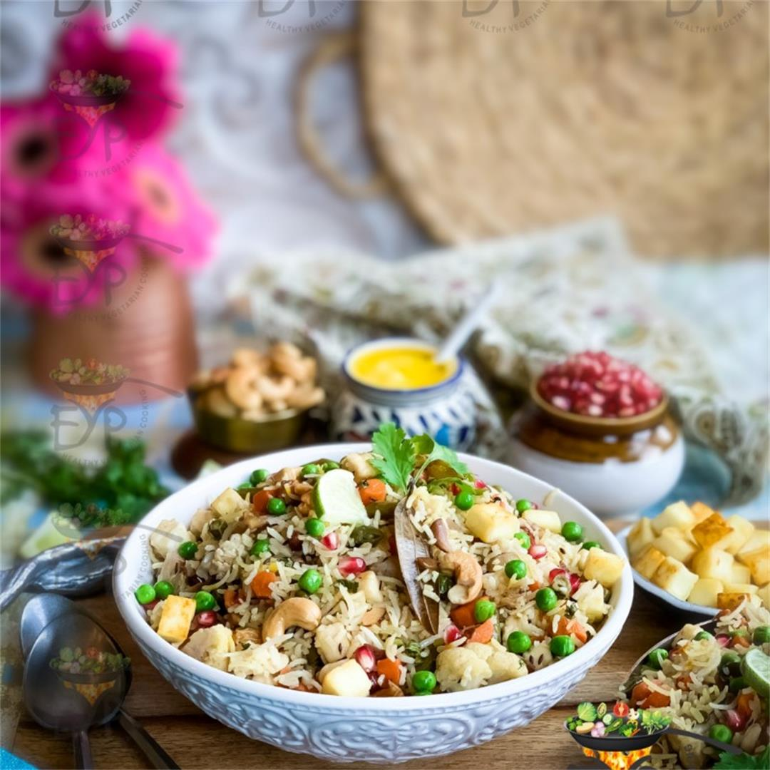 Navratan Pulao: Delightful & Delectable Rice Recipe