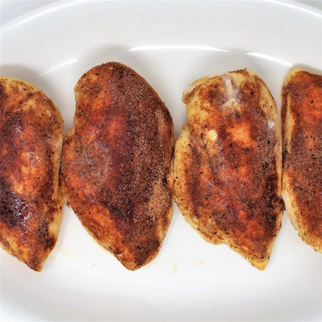 Moroccan Baked Chicken Breasts