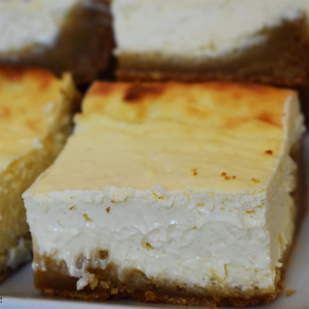 Caramilk Brownie Cheesecake