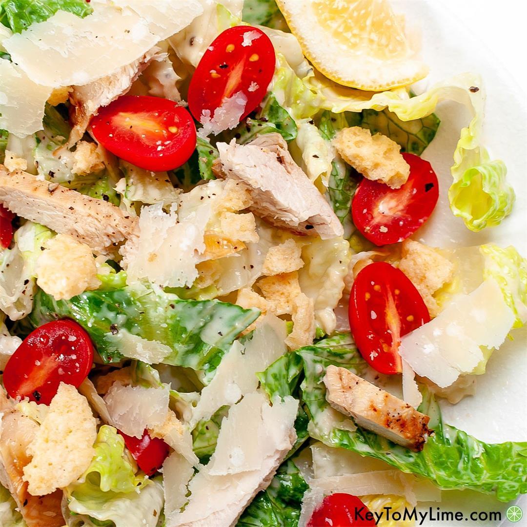 Classic Keto Caesar Salad Recipe