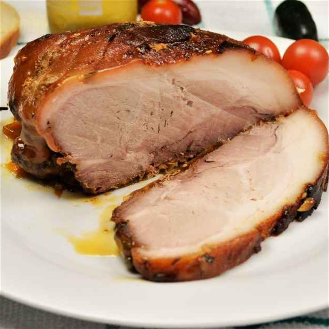 Easy Slow-Cooked Pork Shoulder In The Oven-Timea's Kitchen
