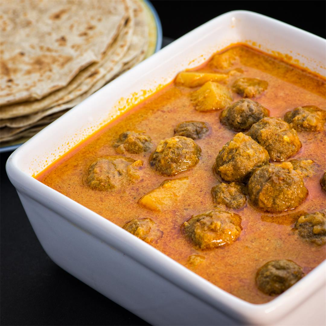 Meatball Curry / Kerala Meat Ball Curry