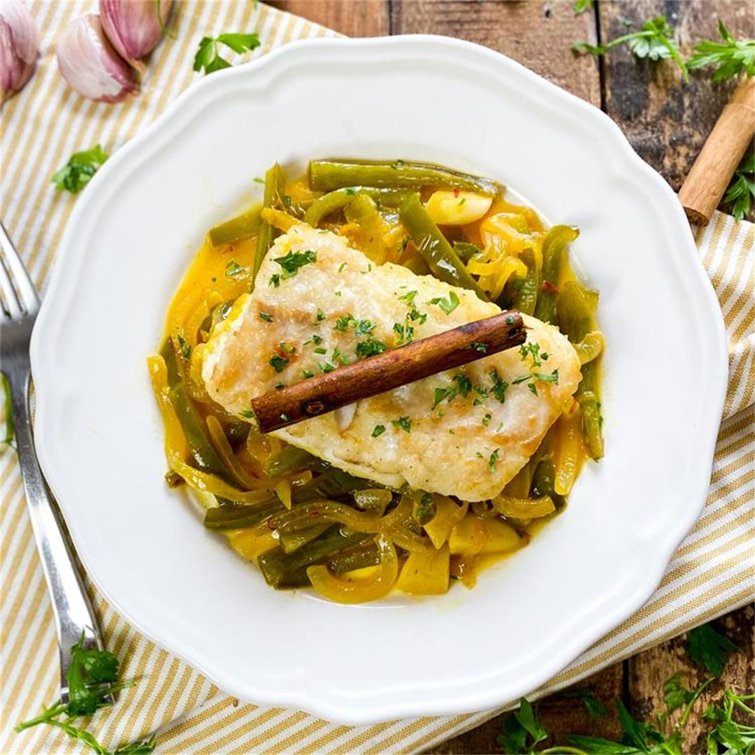 Spanish Cod with Cinnamon | Bacalao a la Canela Recipe