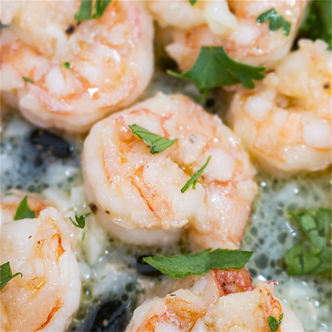 Lemon Garlic Butter Shrimp