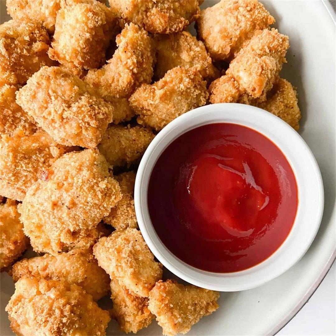 Cracker-Crusted Chicken Nuggets