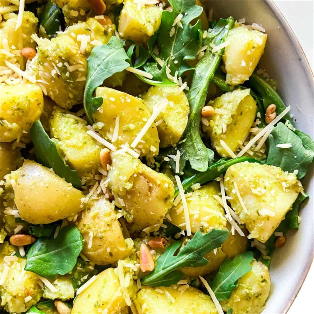 20-Minute Pesto Potato Salad