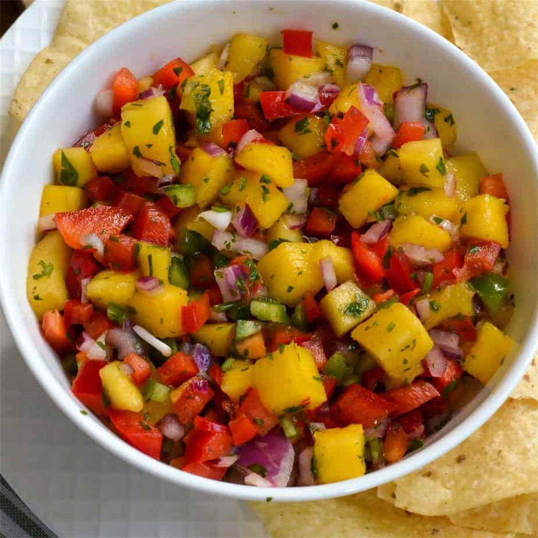 Mango Salsa (So Fresh and Colorful)