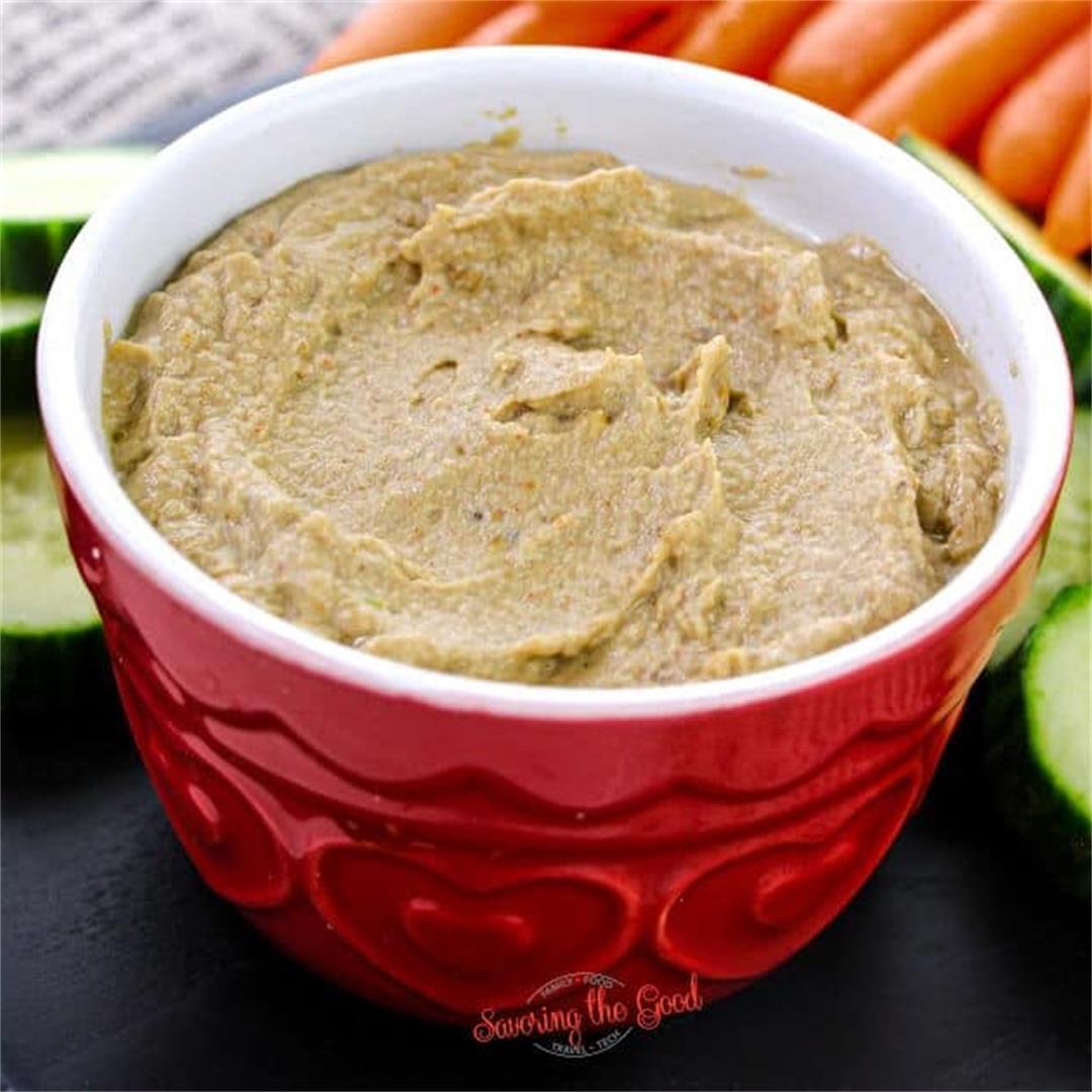 Eggplant Dip Recipe (Baba Ganoush)