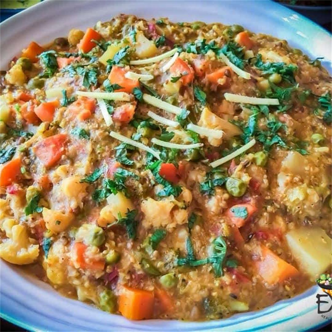 Vegetable Pearl Millet Recipe