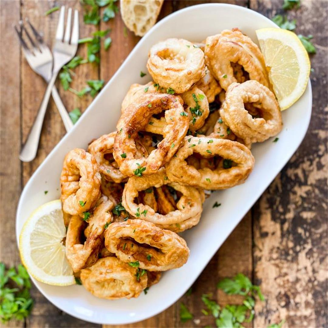 The Best Fried Calamari of your Life | Recipe from Bilbao Spain