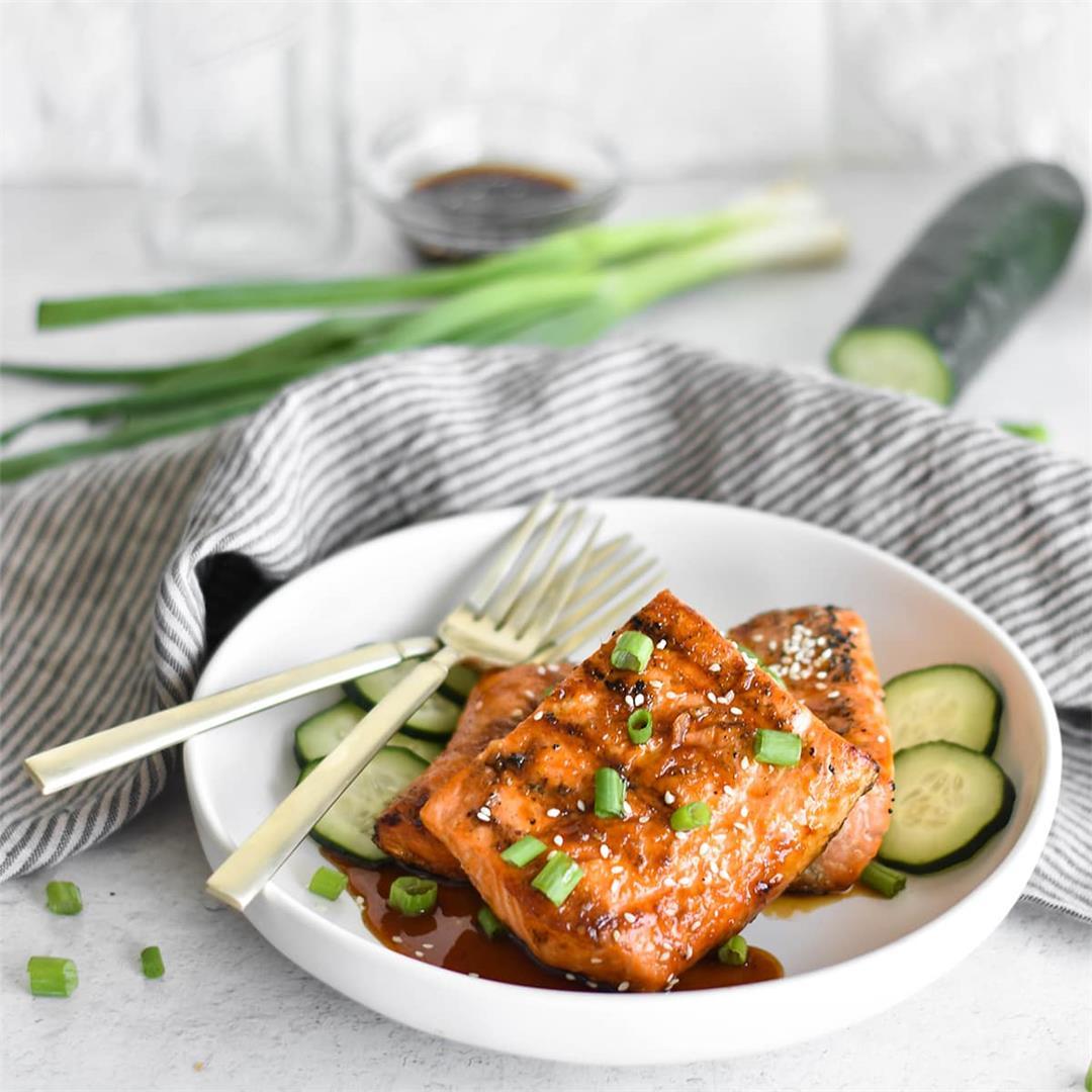 Paleo Teriyaki Salmon (AIP, Whole30)
