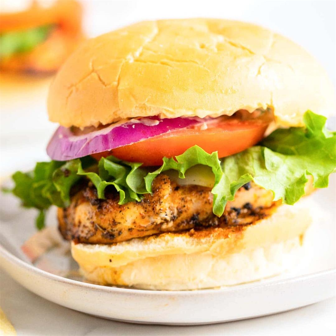 Blackened Chicken Sandwich (GF)