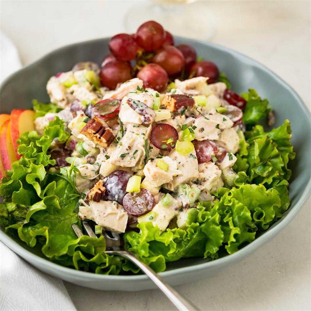 Loaded Waldorf Chicken Salad Recipe