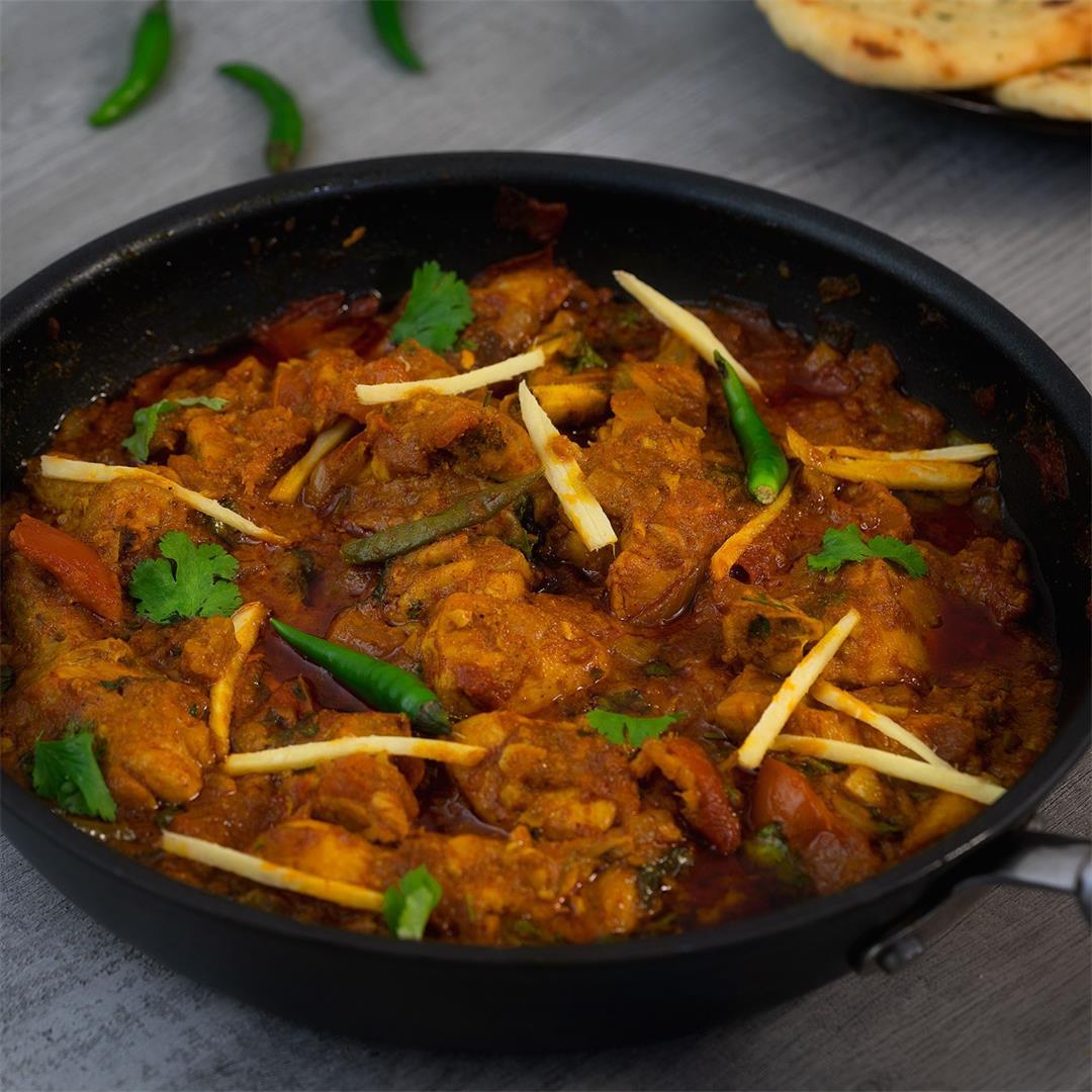 Chicken Karahi Recipe (Kadai Chicken)