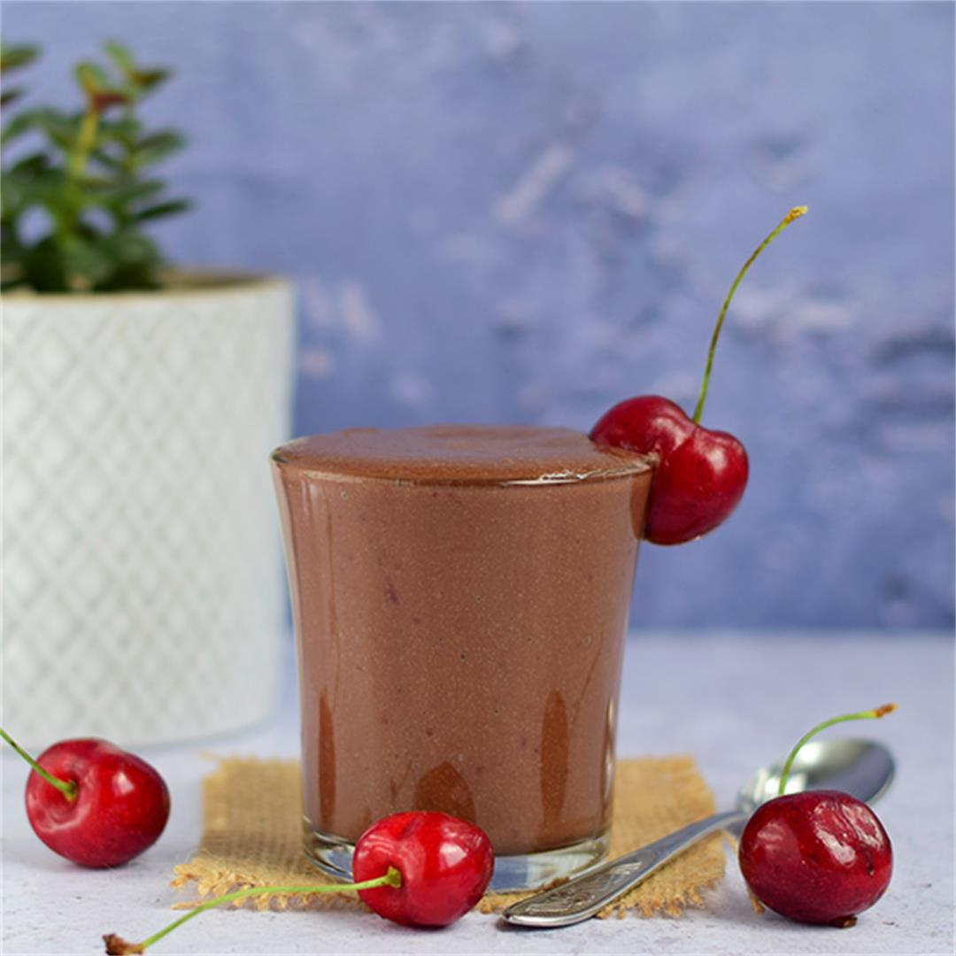 Sweet Cherry Chocolate Smoothie