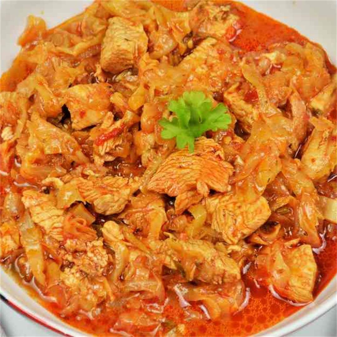 Best Turkey Cabbage Stew Recipe-Timea's Kitchen