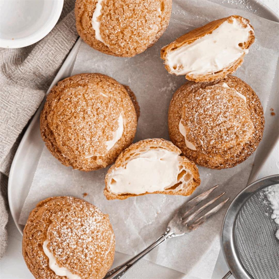 Choux au Craquelin (Cookie Choux)