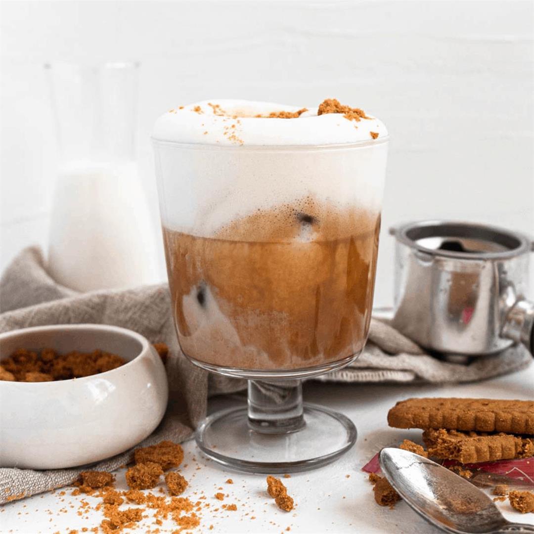 Biscoff Latte