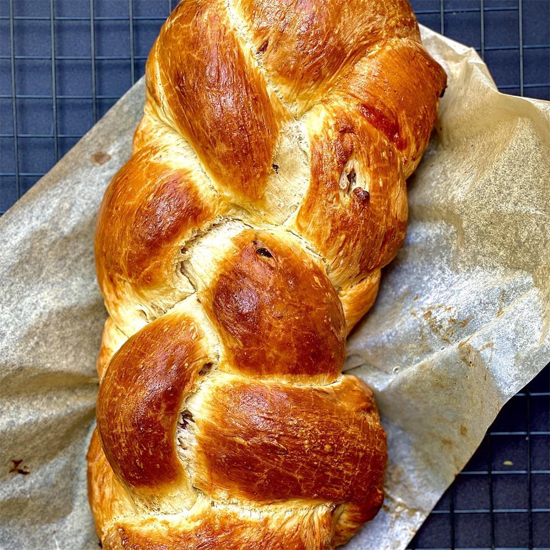 Goat Cheese Prosciutto Bread Twist!