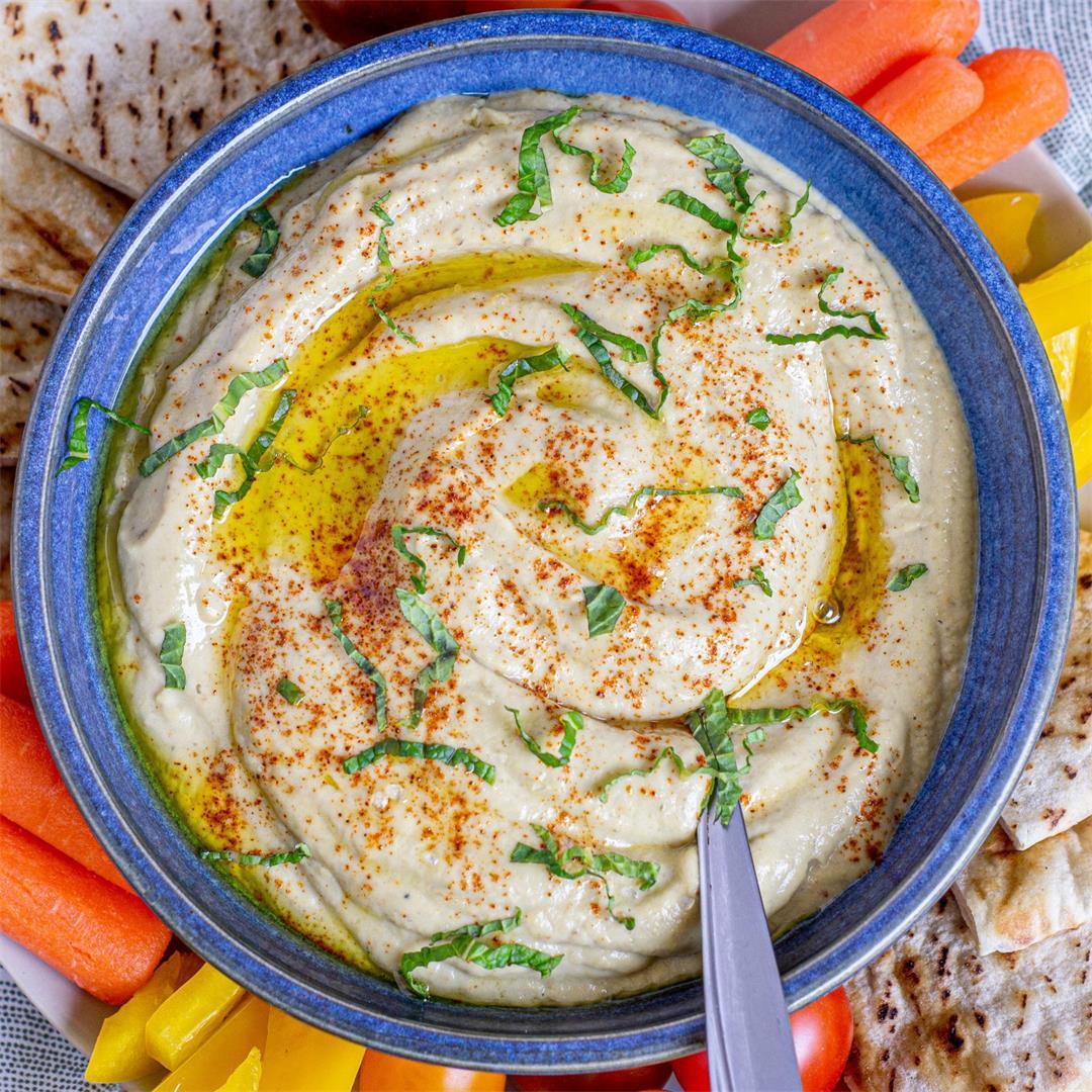 Roasted Baba Ganoush with Garlic Confit