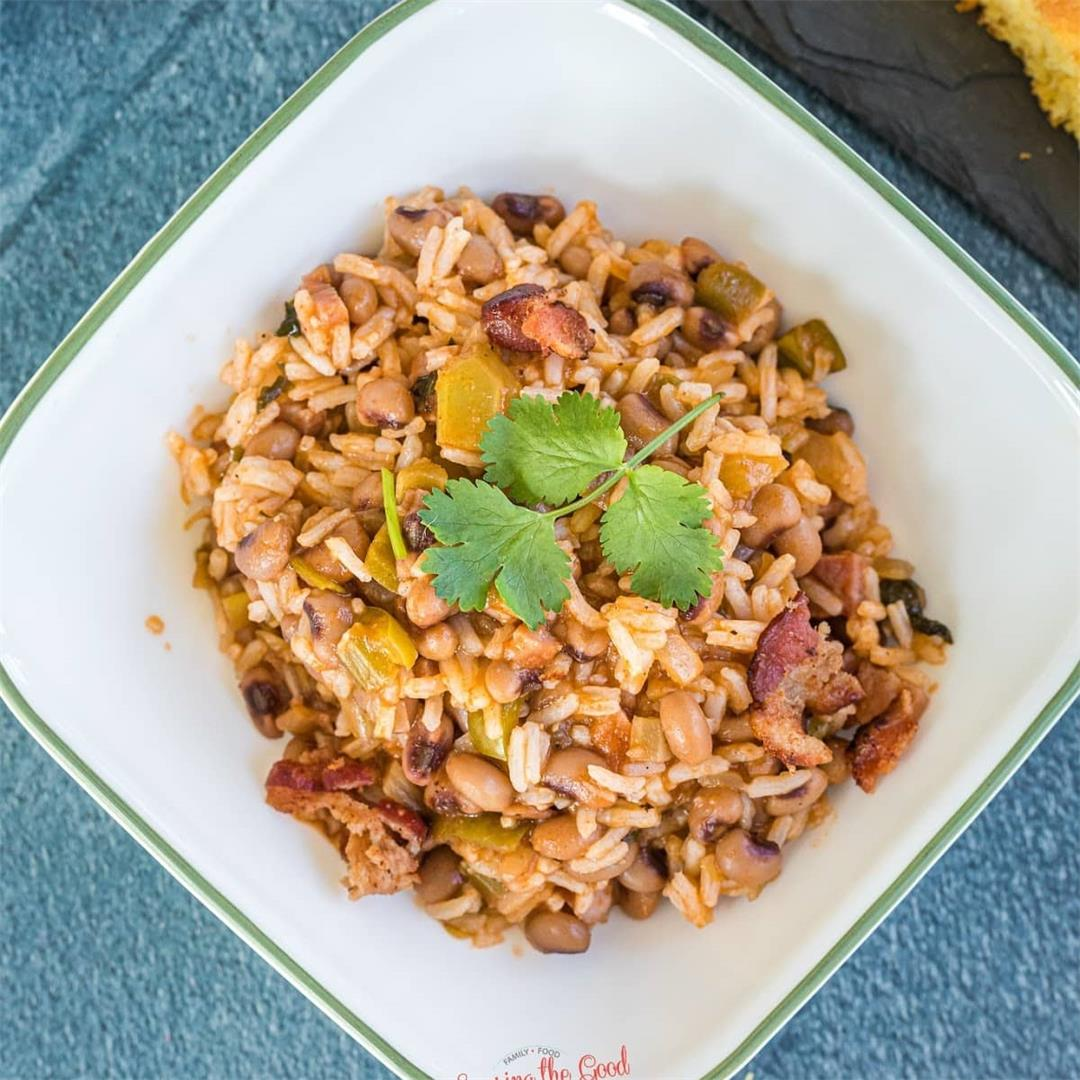 Hoppin' John Recipe with Slow Cooker Instructions