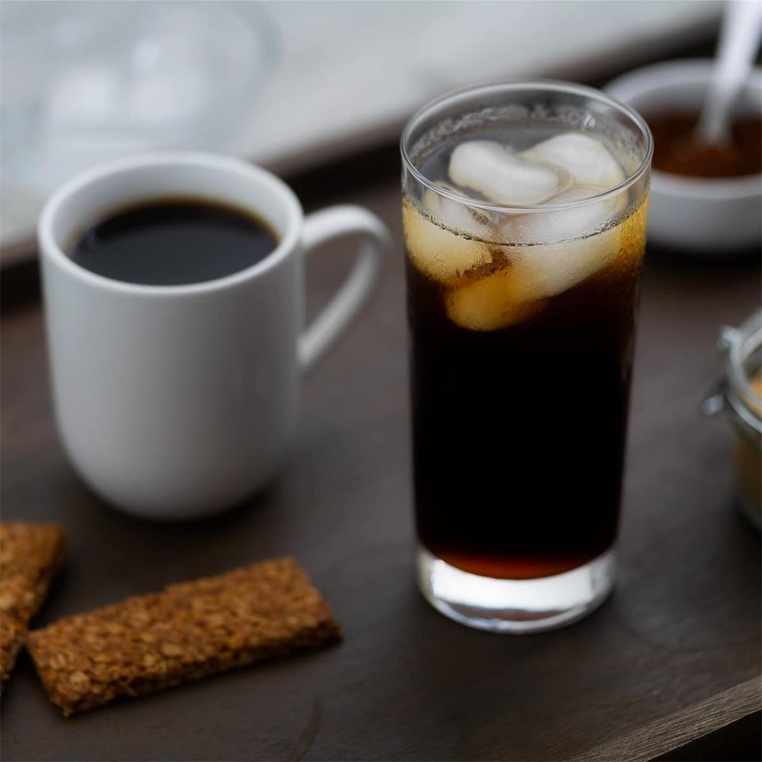 Black Coffee Recipe (Hot and Iced Coffee)