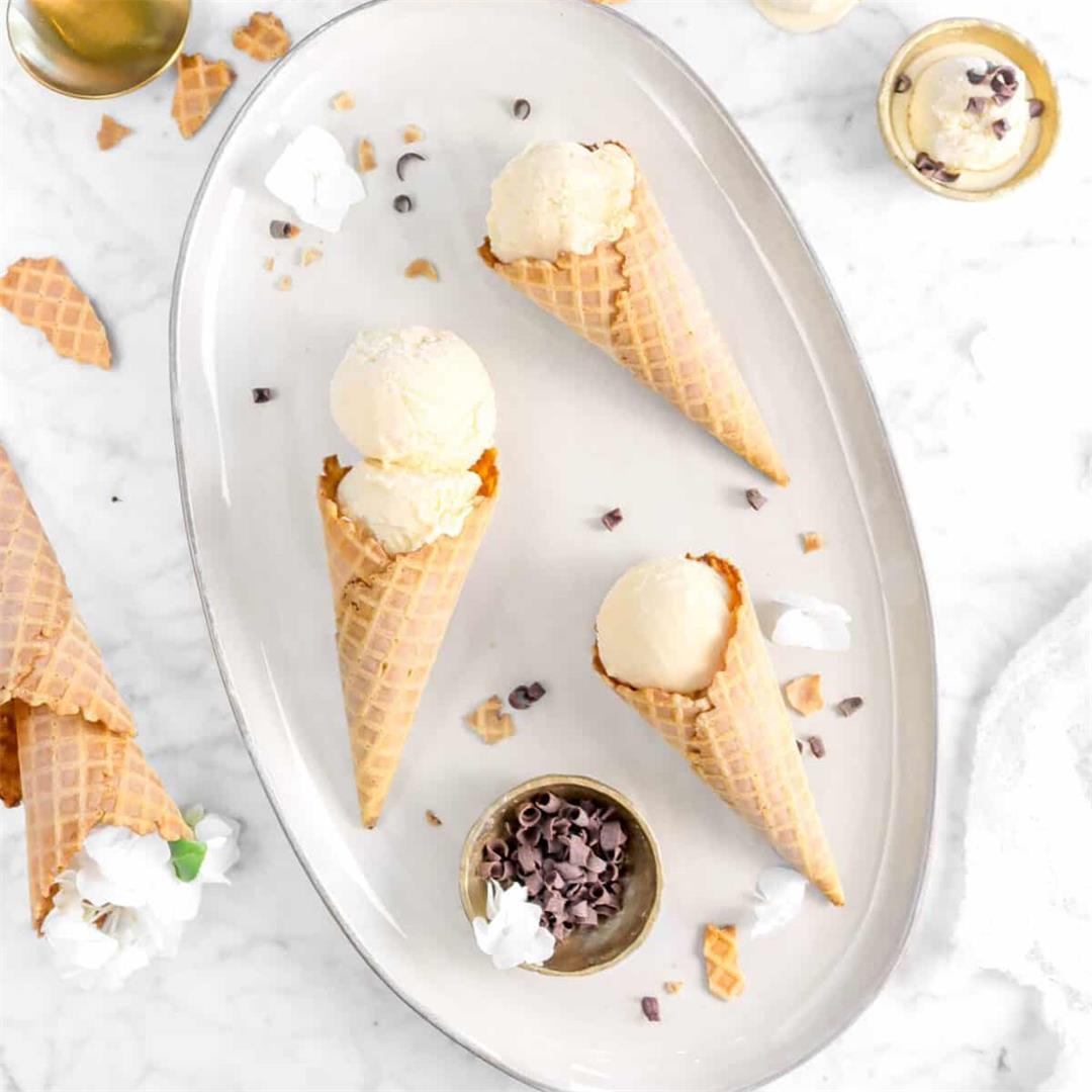 Homemade Irish Cream Ice Cream