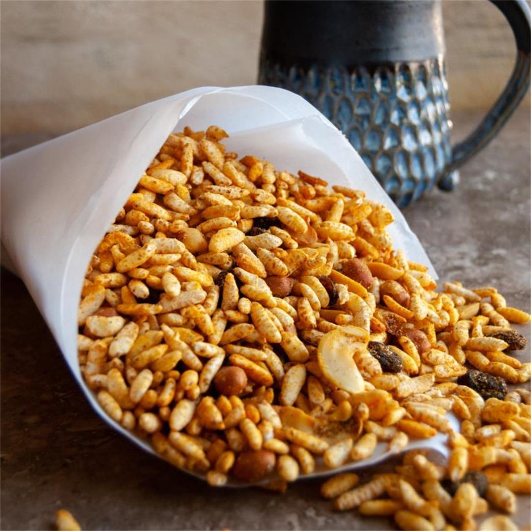 Puffed Rice Savory Snack/Chiwda