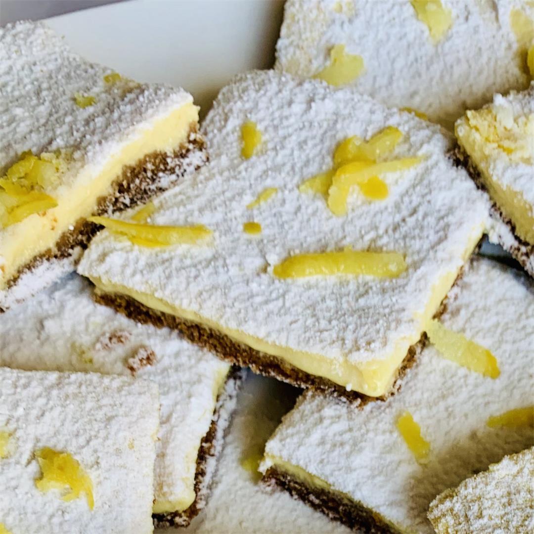 Vegan Lemon Squares