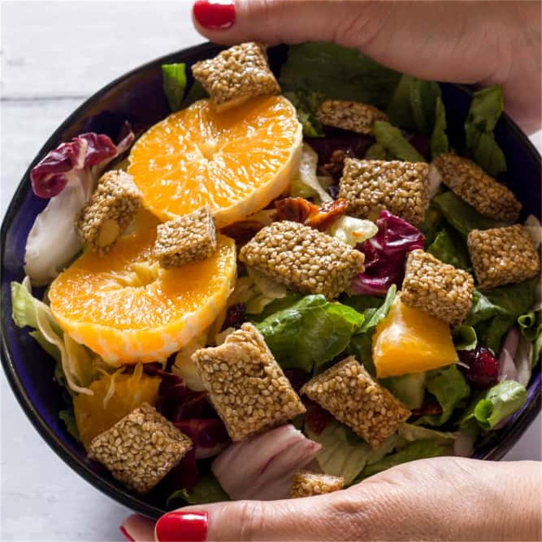Greek Pasteli Salad (Healthy + Easy)