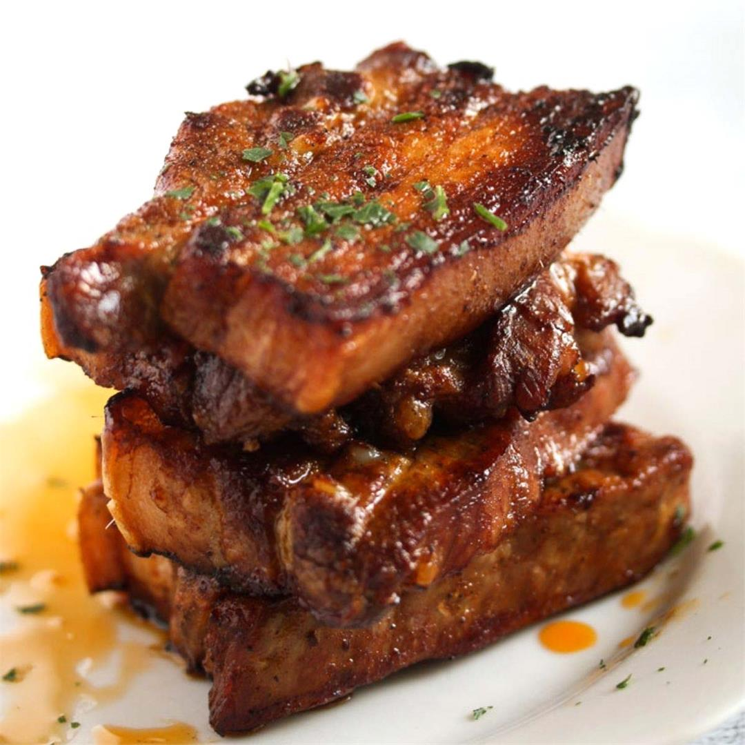 How to Cook Pork Belly Slices