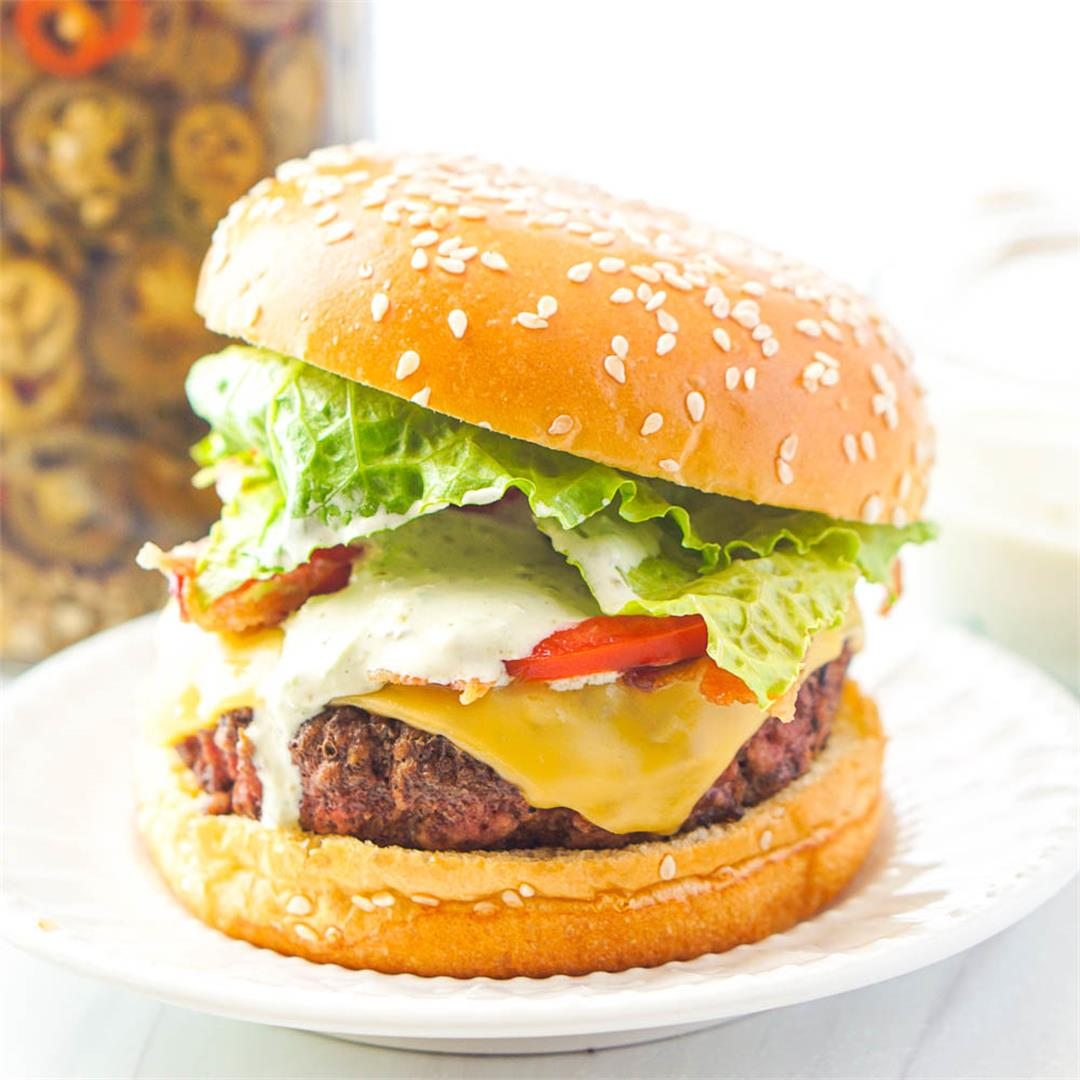 Jalapeño Aioli Burger Sauce for the Ultimate Burger