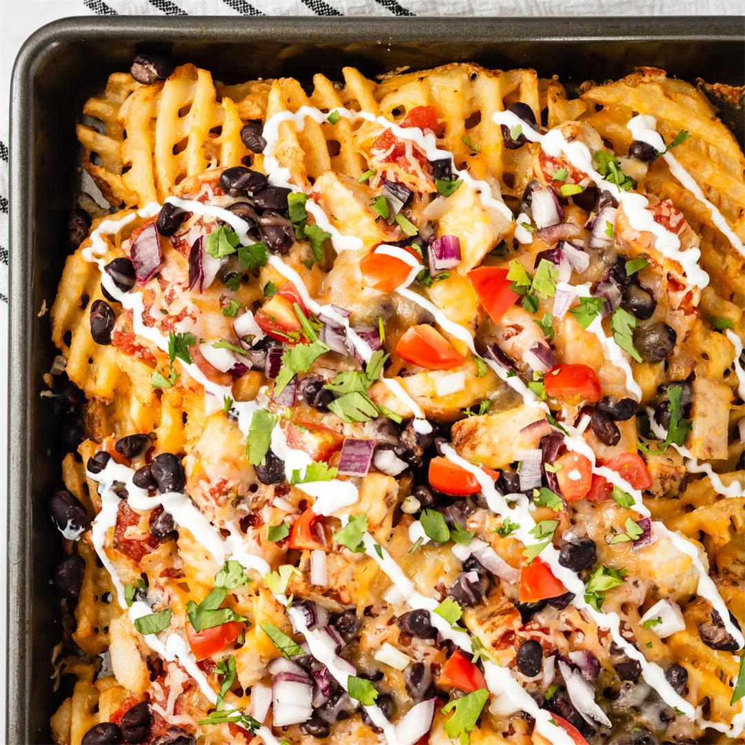Quick Loaded Waffle Fries