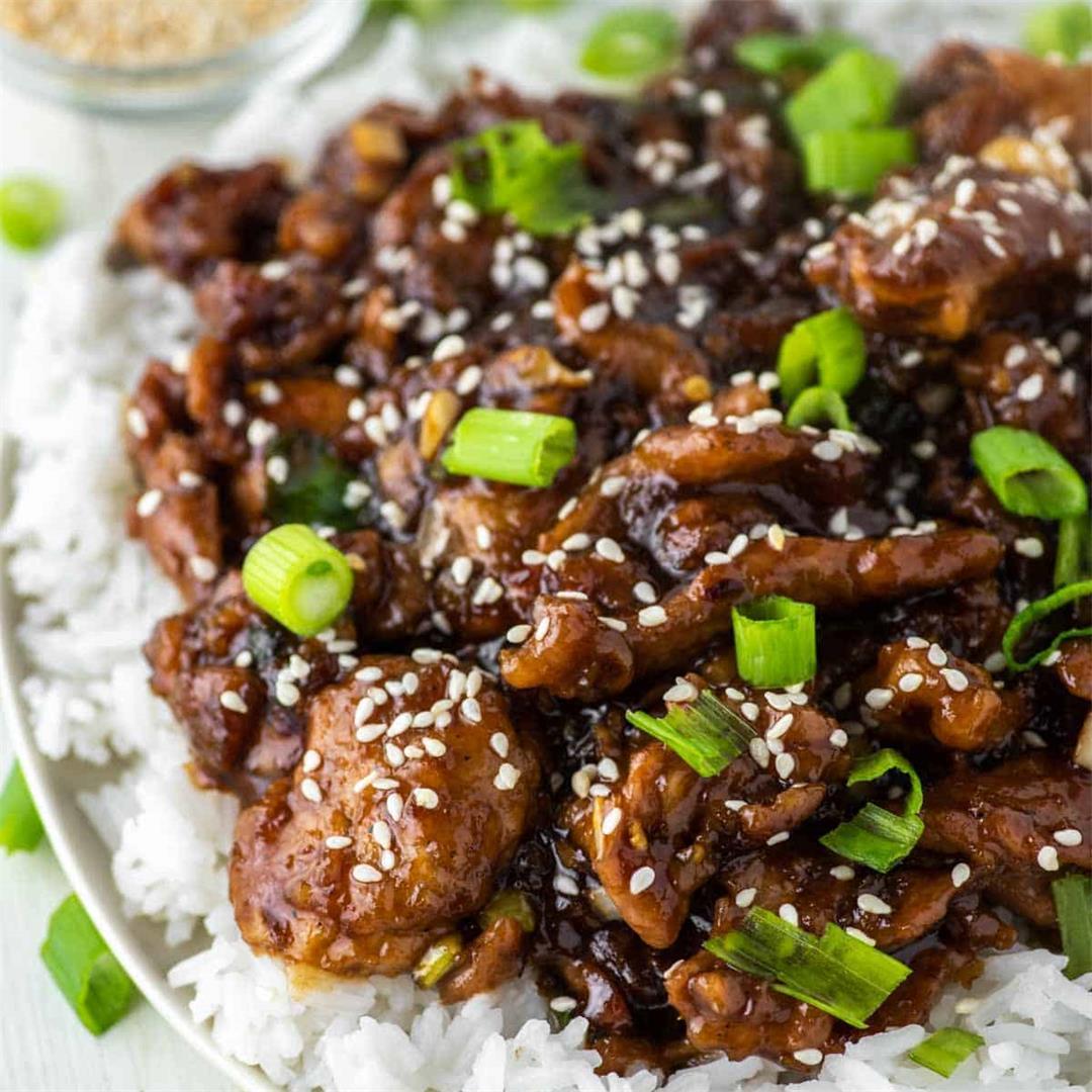 Mongolian Pork