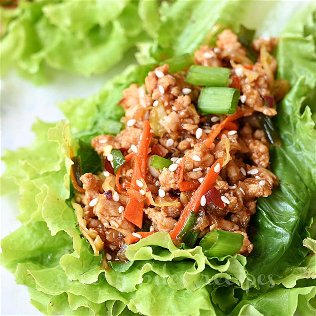 Try This Ultimate Thai Chicken Lettuce Wraps