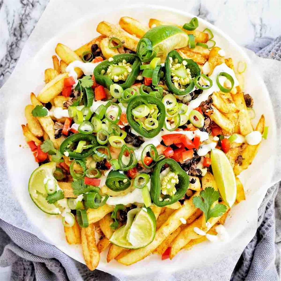 Mexican Fries (Mexican loaded fries)