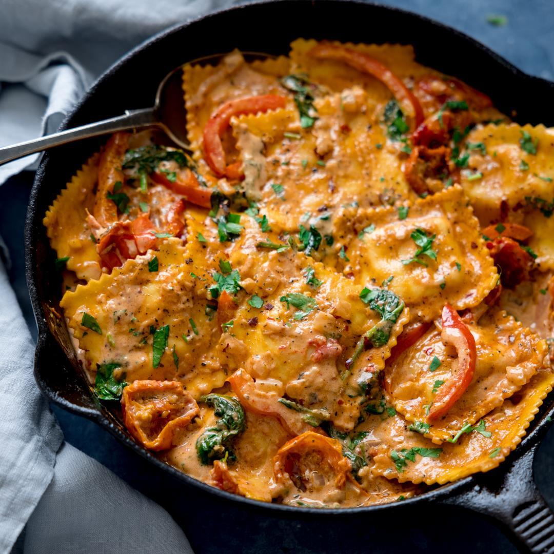 Creamy Tomato Ravioli Sauce
