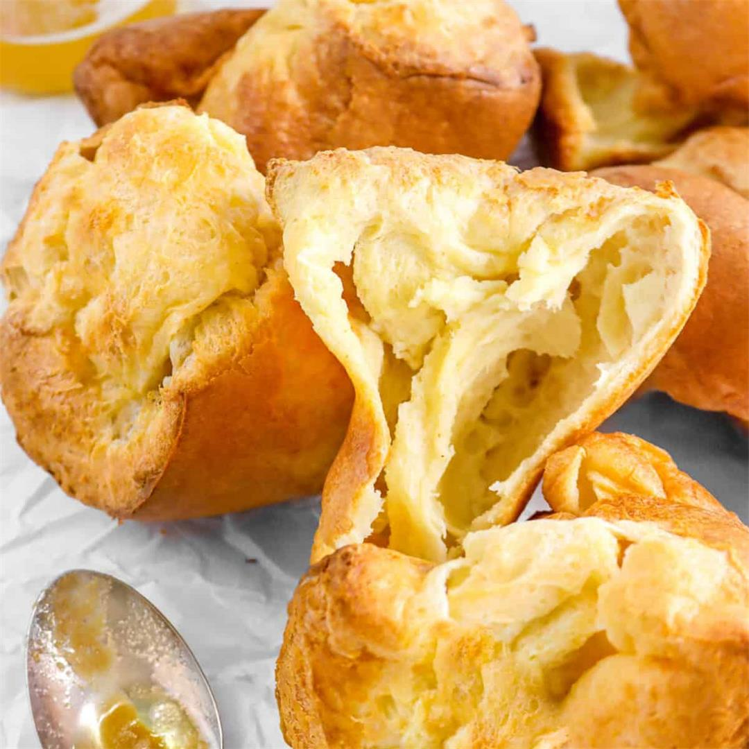 Easy Brown Butter Popovers