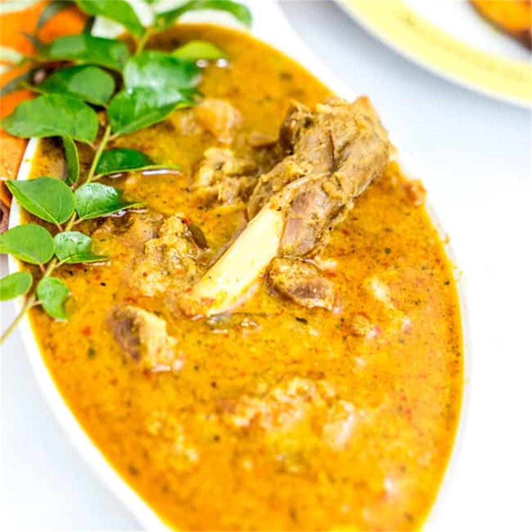 Kerala Mutton curry recipe