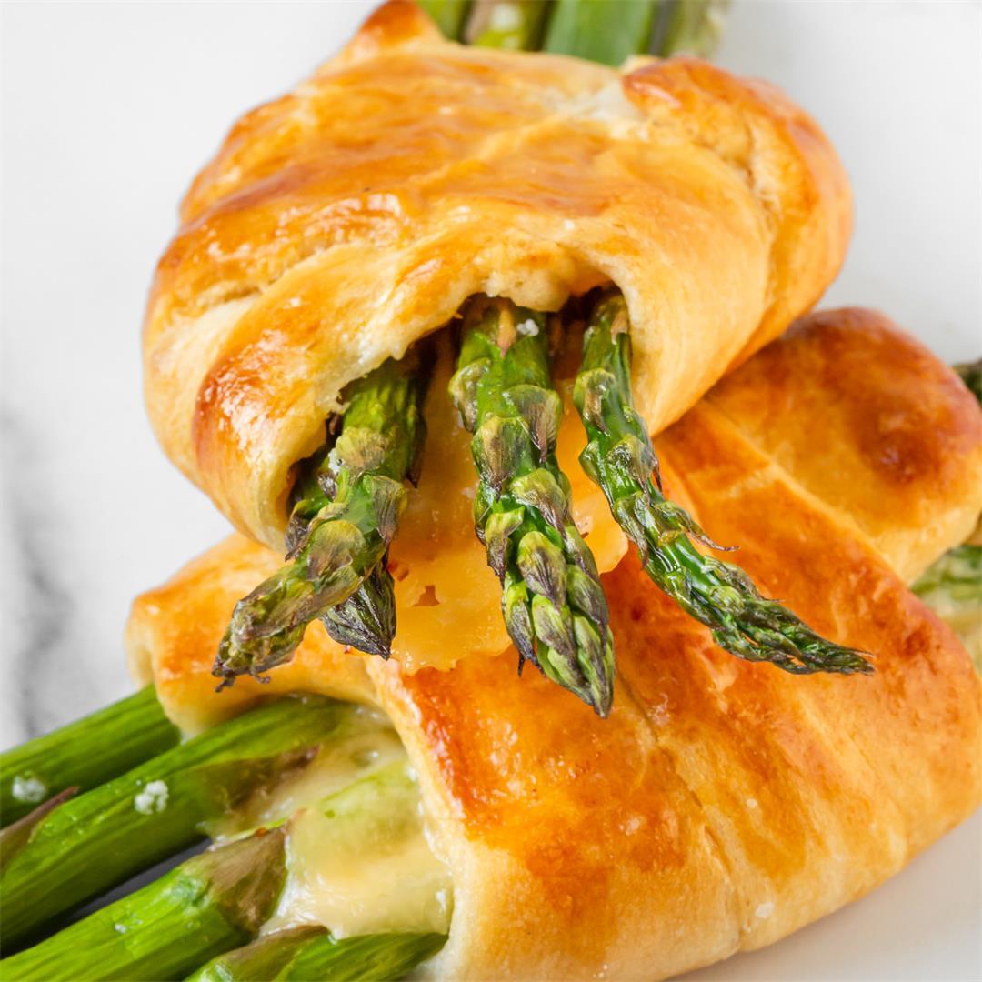 Asparagus Croissants