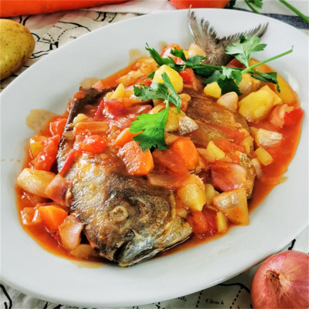 How to cook sweet and sour fish (Malaysian Chinese style)