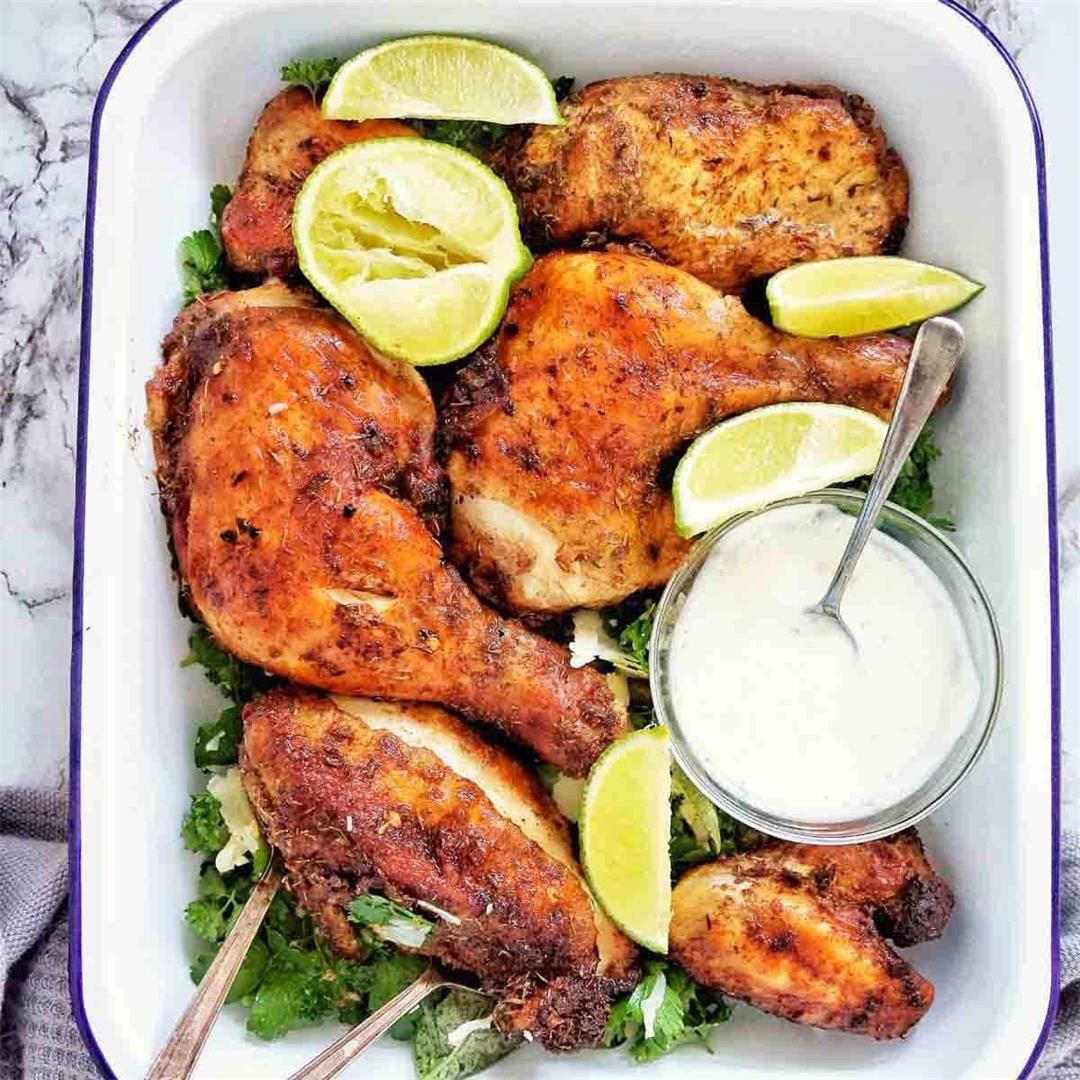 Air Fryer Jerk Chicken