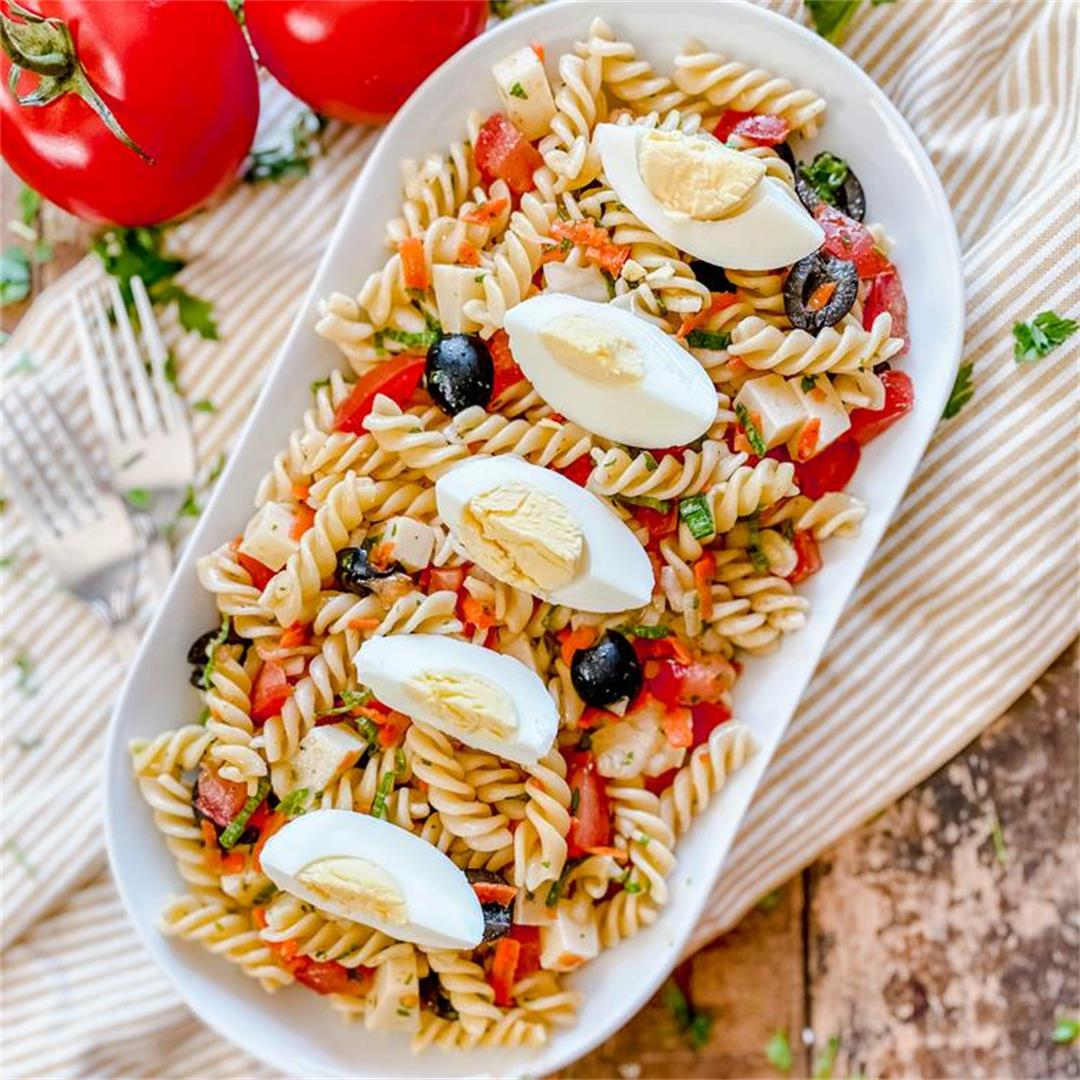 The Best-Ever Pasta Salad | Refreshing & Done in 30 Minutes