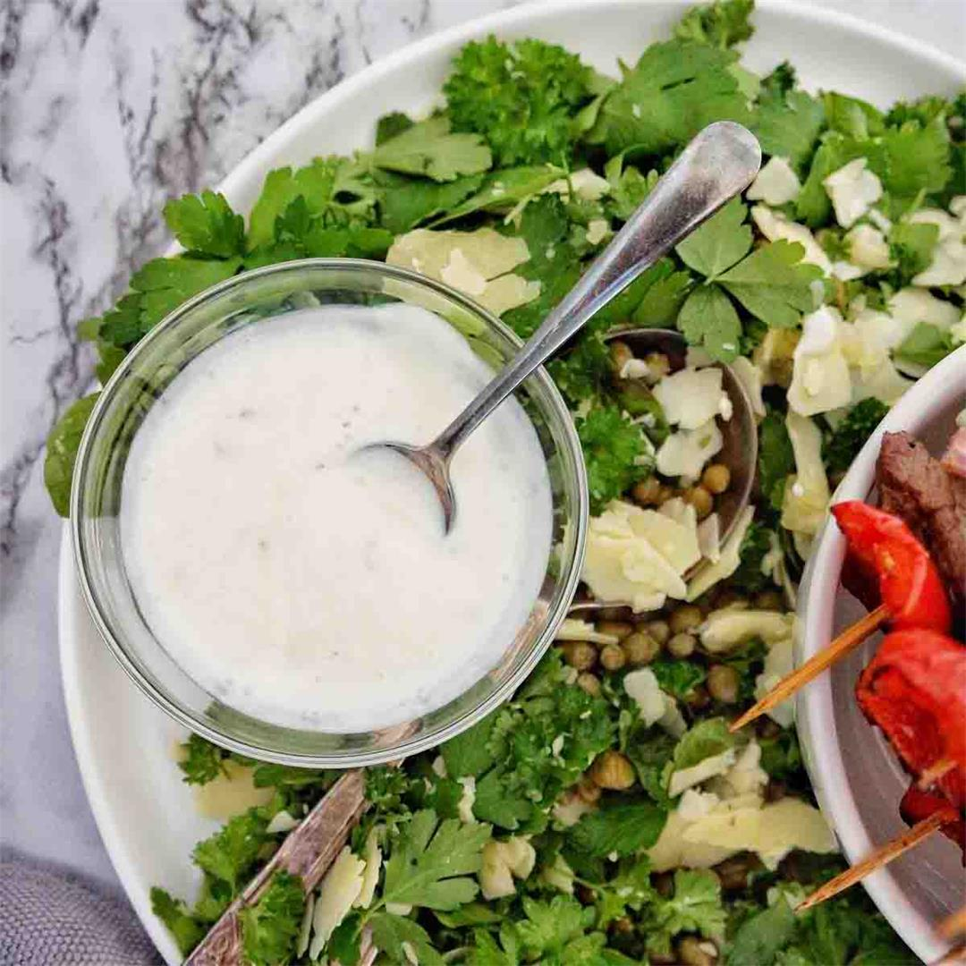 Garlic Yogurt Sauce