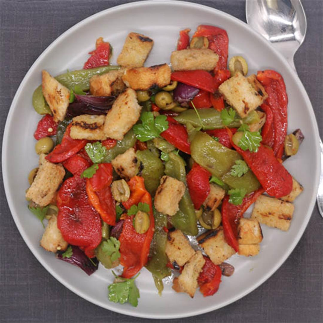 Barbecued Mixed Pepper Salad
