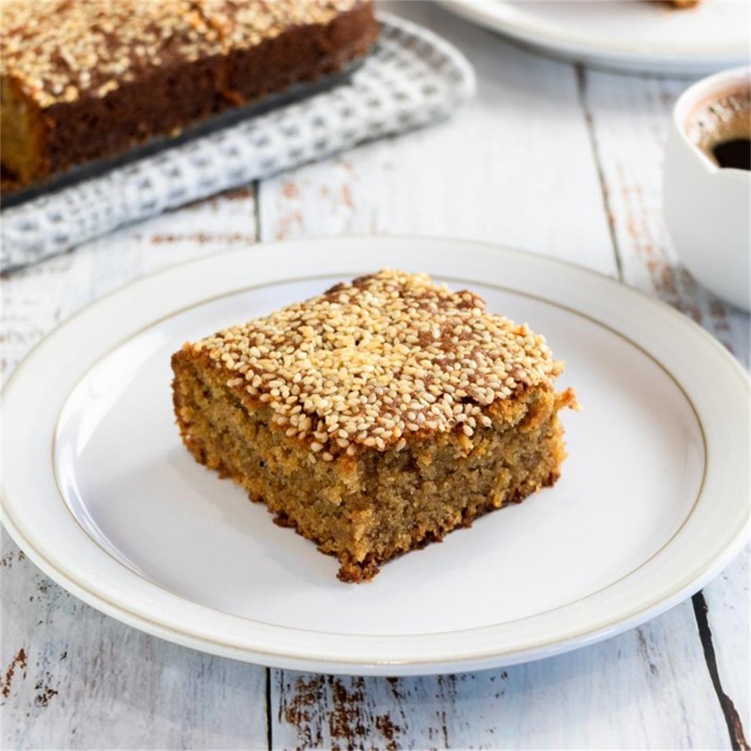 Fanouropita Vegan Spiced Cake