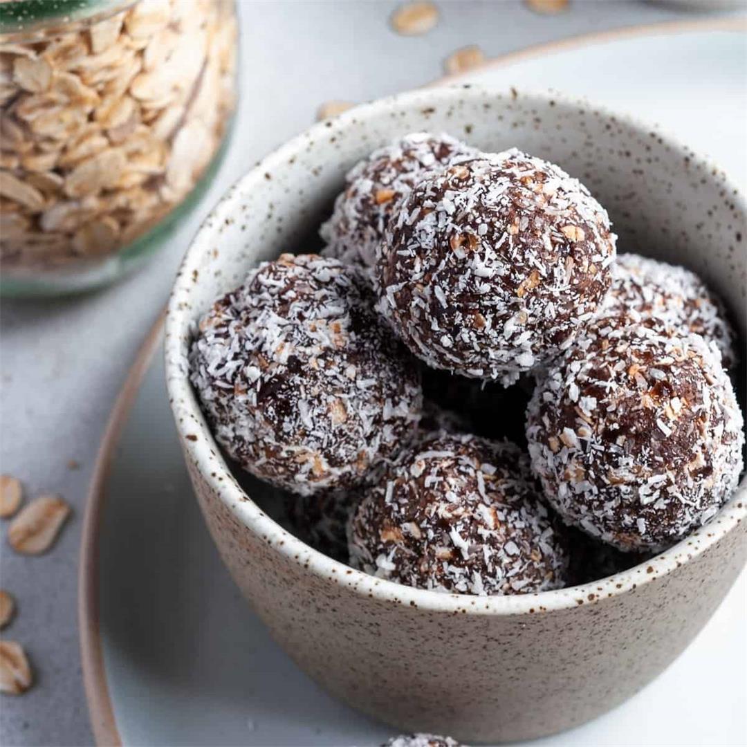 Nut-Free Chocolate Bliss Balls