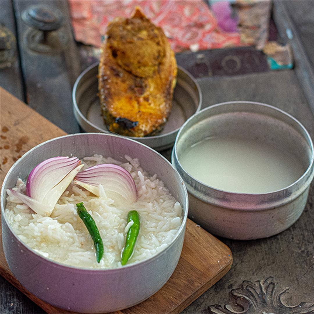 Panta Bhat recipe