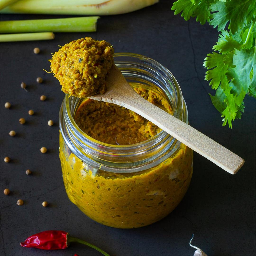 Vegan Thai Yellow Curry Paste