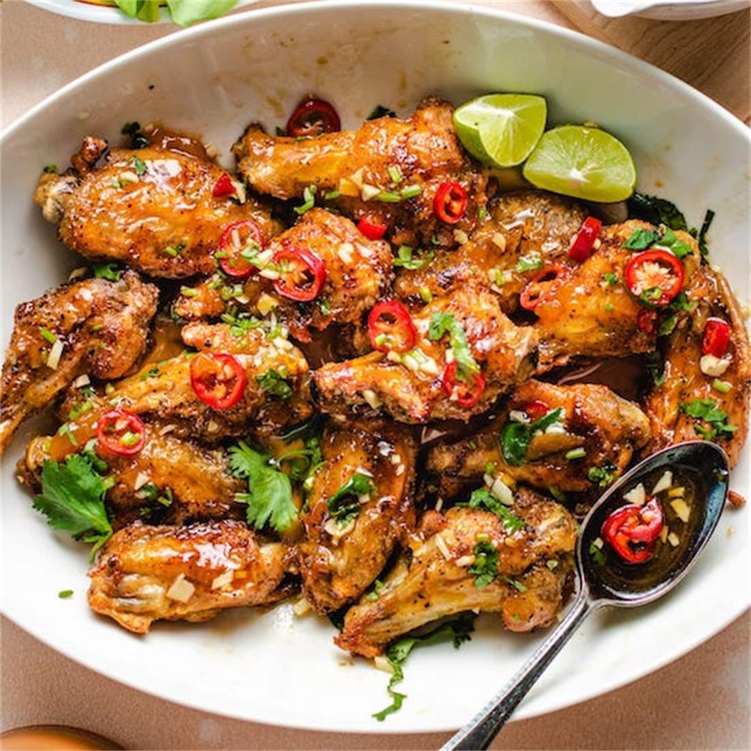 Vietnamese Air Fried Chicken Wings